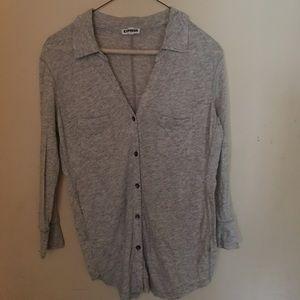 Grey express shirt